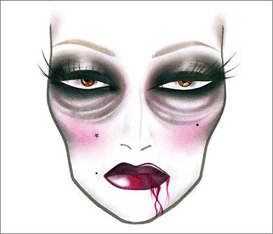 Категория: Схемы макияжа МАС